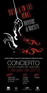 Concierto extraordinario 3/8/14 Iglesia Santa María de la Plaza de Cacabelos
